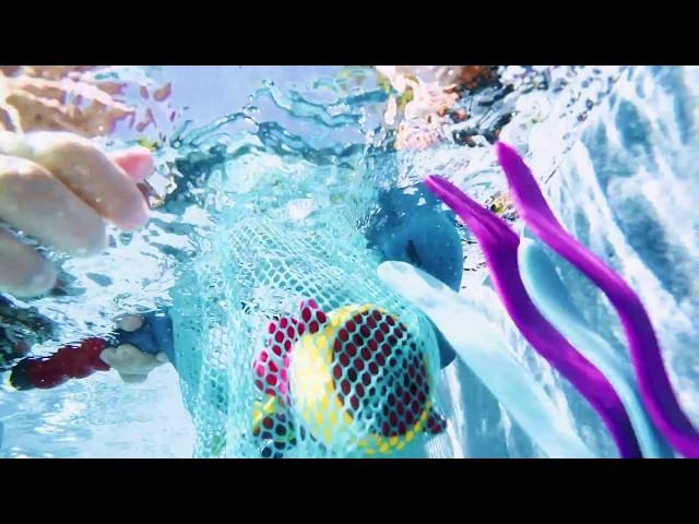 Набор для игры в ванне и бассейне - НАКОРМИ АКУЛУ