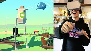 VIRTUAL REALITY INCEPTION! | Virtual Virtual Reality (Oculus Go Gameplay)