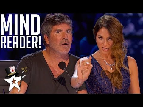 Psychic Reads Simon Cowell's Mind on AGT Champions | Magicians Got Talent (видео)