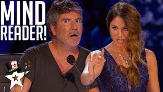 Psychic Reads Simon Cowell's Mind on AGT Champions | Magicians Got Talent