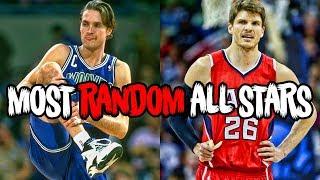 The 5 Most RANDOM All Stars in NBA History!