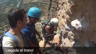 preview picture of video 'Junio 2014 - Mallo Visera, Riglos, via Mosquitos 6b'