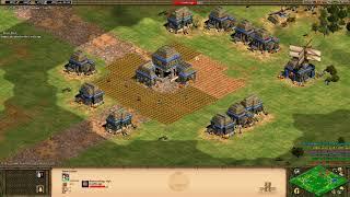 3v3 Black Forest - Aztec - Siege/Monks Into Eagles, Good Game