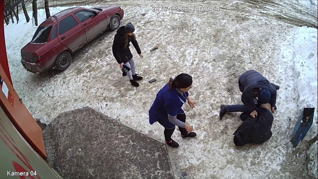 Неудачное ограбление магазина в Альметьевске