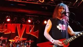 ANVIL. Oooh Baby. @ Count's Vamp'd Rock Bar in Las Vegas. 2016.  (song 3 of 14)