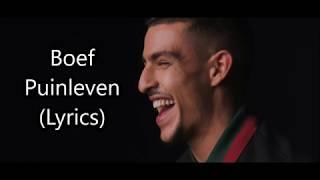 BOEF   PUINLEVEN (Lyrics)