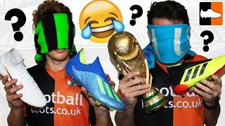 World Cup Blindfold Guess The Football Boot Challenge!