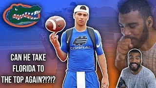 Did Florida Find Another Tim Tebow?!?- Matt Corral Highlights [Reaction]