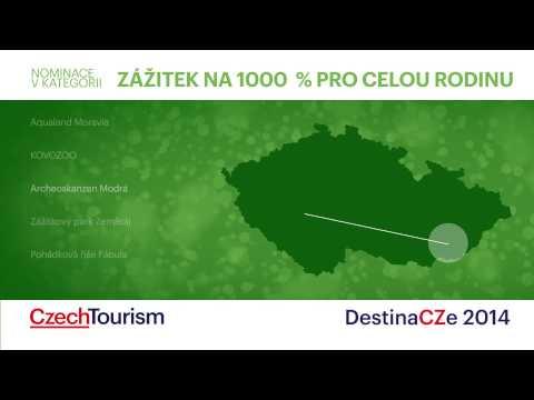 Animace znělek a vyhlášení cen DestinaCZe