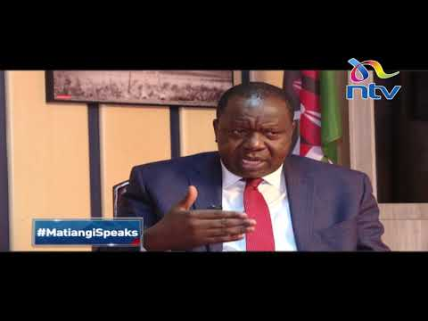 CS Matiang'i on security state of the Nation