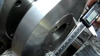 Machining A Adjust-Tru 6 Jaw Chuck Backplate