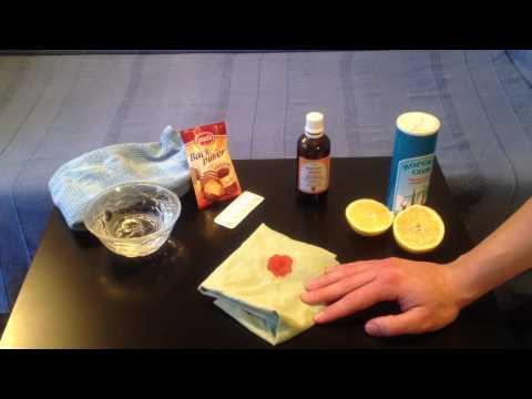 Blutflecken entfernen: ein super Tipp