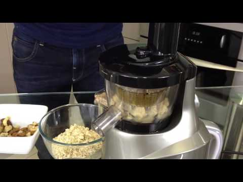 How To Make Nut Butter With A Slow Juicer