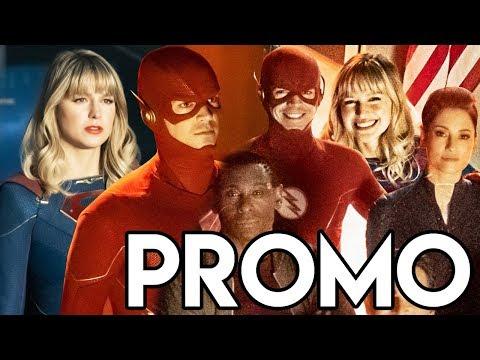 Crisis on Infinite Earths Promo Breakdown - Supergirl, The Flash & Superman Reveal!