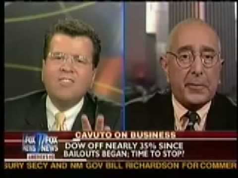 Noisy Angry Shouting Match Between Ben Stein & FOX's Neil Cavuto.