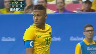 Neymar vs South Africa 1080i (Rio 2016) By FutSoccer HD