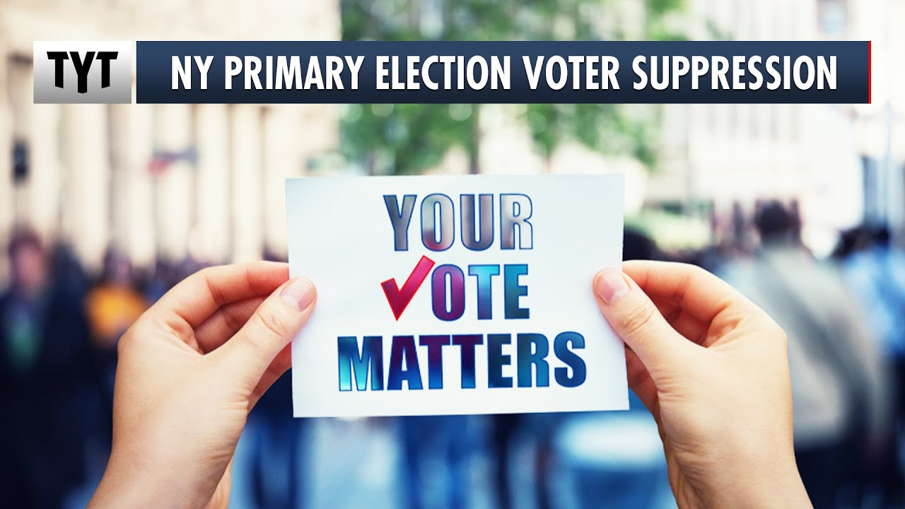 UNBELIEVABLE Voter Suppression in New York's Primary Election thumbnail