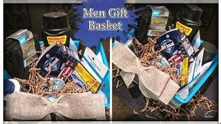Rustic Gift Basket For Men💙