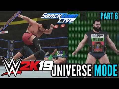 WWE 2K19 | UNIVERSE MODE #6 | RUSEV DAY