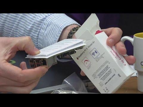 Unboxing the Raspberry Pi 3 Model B+