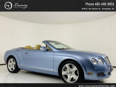 Pre-Owned 2009 Bentley Continental GT Convertible