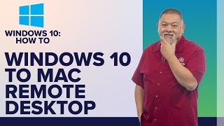 How to Easily Remote Access your Mac from Windows 10 with VNC client