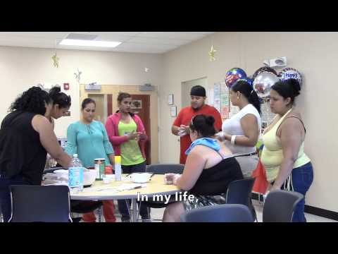Cooking Matters Class at El Centro in Hartford