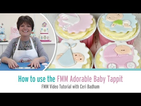How to use the FMM Adorable Baby Motifs Tappit Cutter