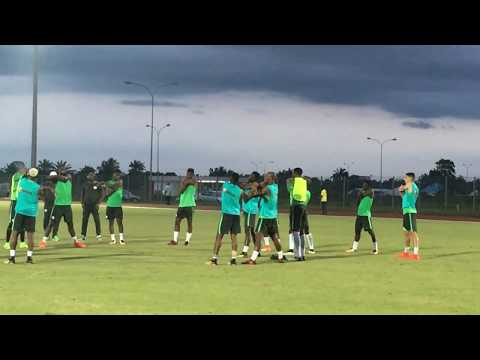 ROAD TO RUSSIA 2018: Super Eagles Stretching For Ticket To W/Cup