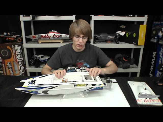 Aquacraft Wildcat EP RC Boat Unboxing & First Review