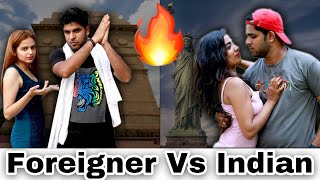 INDIANS VS FOREIGNERS || Independence Day Special || Yogesh Kathuria - Download this Video in MP3, M4A, WEBM, MP4, 3GP
