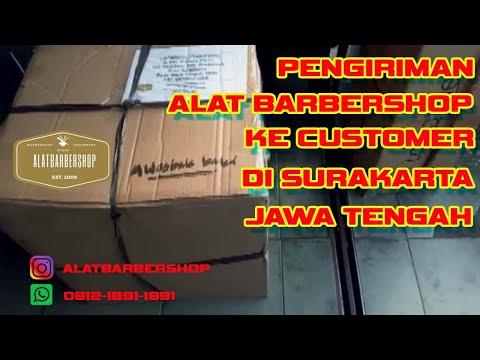 Pengiriman Alat Barbershop ke Customer di Surakarta