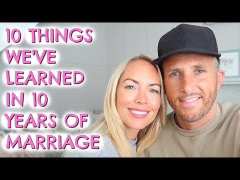 10 THINGS WE'VE LEARNED IN 10 YEARS OF MARRIAGE  |  EMILY NORRIS
