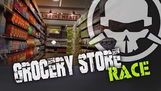 Grocery Store Drone Race