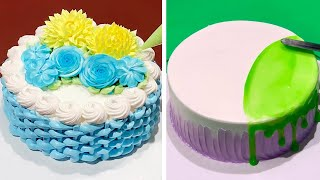 Amazing Cake Decorating Tutorials For Weekend | Most Satisfying Chocolate Cake Decorating Ideas