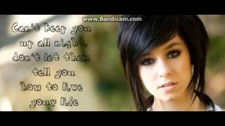 Ugly - Christina Grimmie [LYRICS].