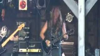 DEATHRIDERS Neil Turbin Armed And Dangerous Live! Headbangers Open Air Germany 2009/7/24