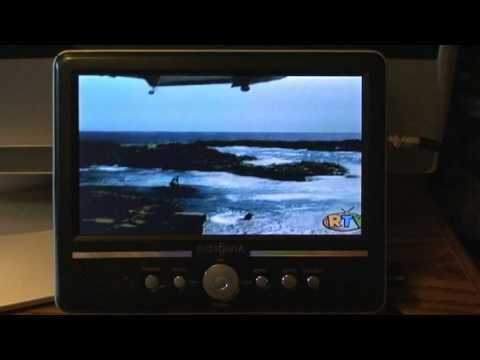 Axion axn-8706 120 hz 7-inch widescreen portable lcd tv | portable.