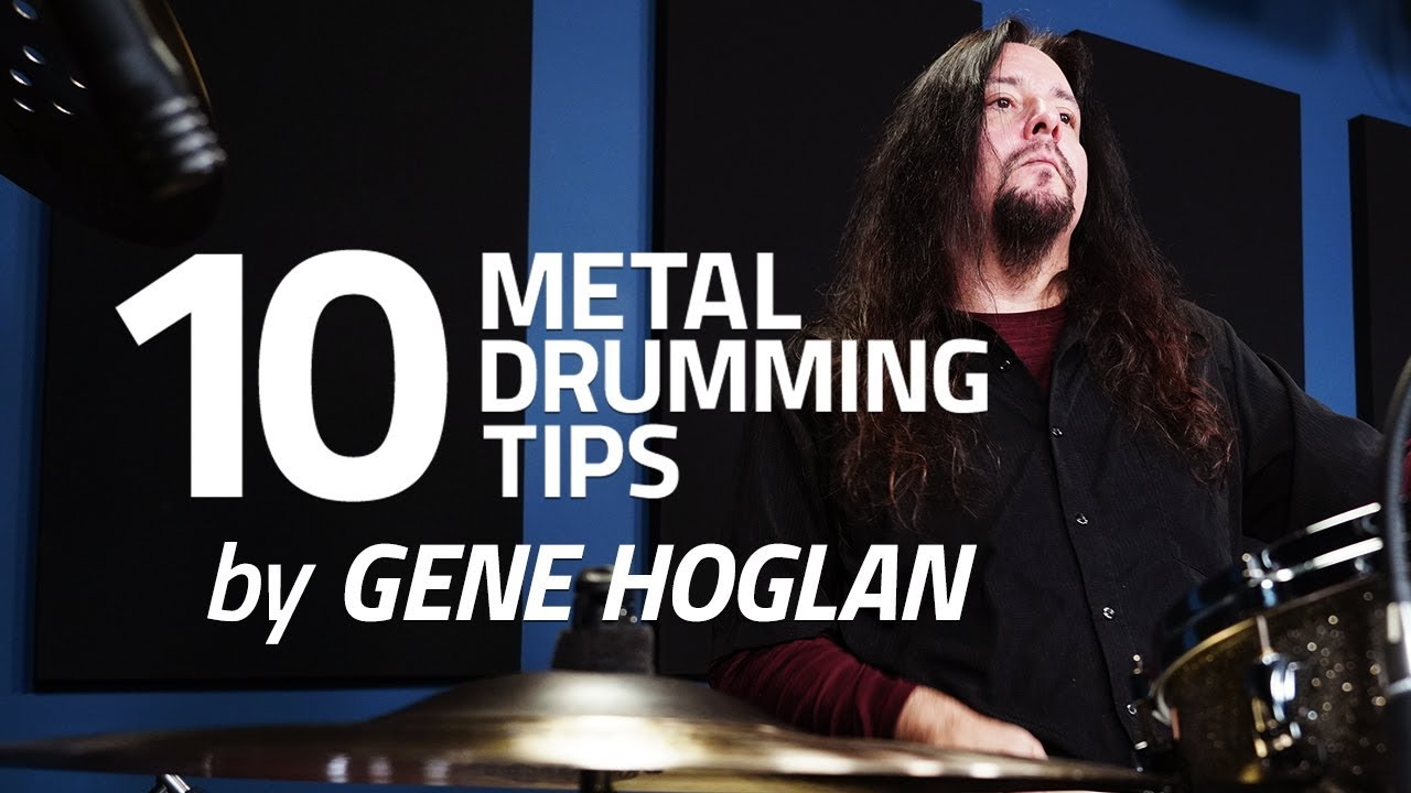 10 Metal Drumming Tips
