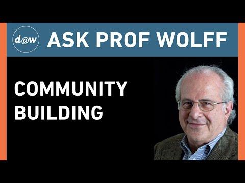 AskProfWolff: Community Building