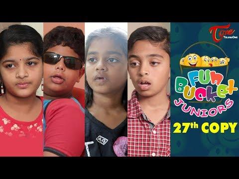 Fun Bucket JUNIORS   Episode 27   Kids Funny Videos   Comedy Web Series