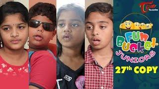 Fun Bucket JUNIORS | Episode 27 | Kids Funny Videos | Comedy Web Series