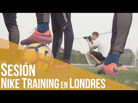 Sesión Nike Training en Londres