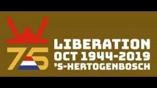 Bevrijding 's Hertogenbosch 75 jaar; aankomst bevrijdingsvuur