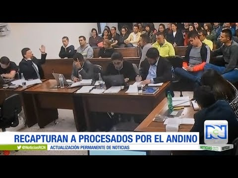 Legalizan la recaptura de tres vinculados al atentado contra el centro comercial Andino