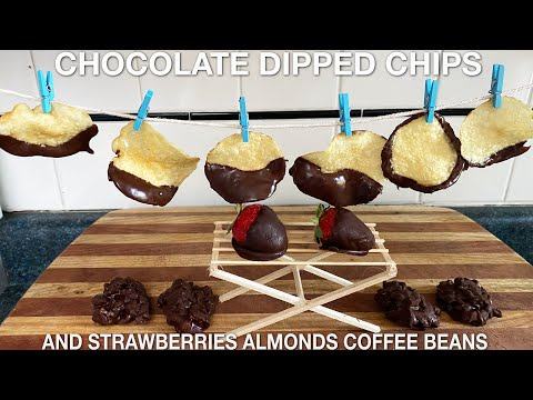 Chocolate Dipped Potato Chips - You Suck at Cooking (episode 113)