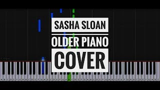 Sasha Sloan   Older Short Piano Cover | Synthesia | How To Play