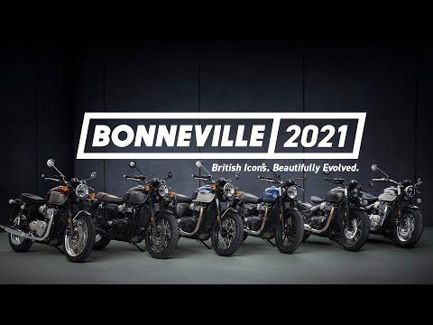 Bonneville 2021   British Icons. Beautifully Evolved