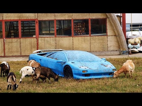 15 Most EXPENSIVE and EXCLUSIVE abandoned CARS