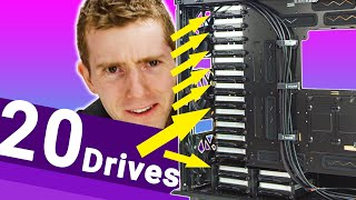 320 TERABYTES in a normal case!! - The DIY 4k editing NAS